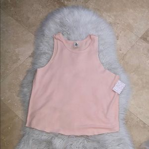 NWT Free People Pink Comfy Tank Style Top
